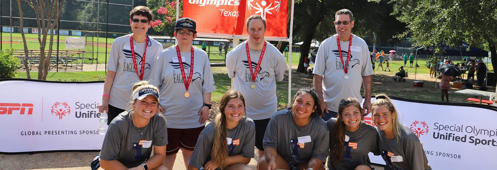 Photo: BVT Residents at the Special Olympics in Texas