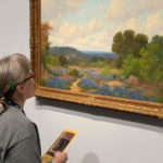 Photo: BVT Resident visits an art gallery