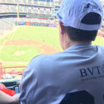 Photo: BVT Resident at a Baseball Game