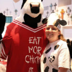 Photo: BVT Resident with Chick Fil-A Cow